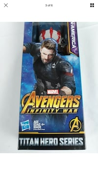 "Marvel Avengers Infinity War Captain America 12"" Figurine Sioux Falls, 57108"