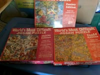 3 Worlds Most Difficult Puzzles Laurel Springs, 08021