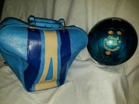 b1a3f72443ec Used Vintage Don Carter Bowling Ball Bag  with ball for sale in Garland -  letgo