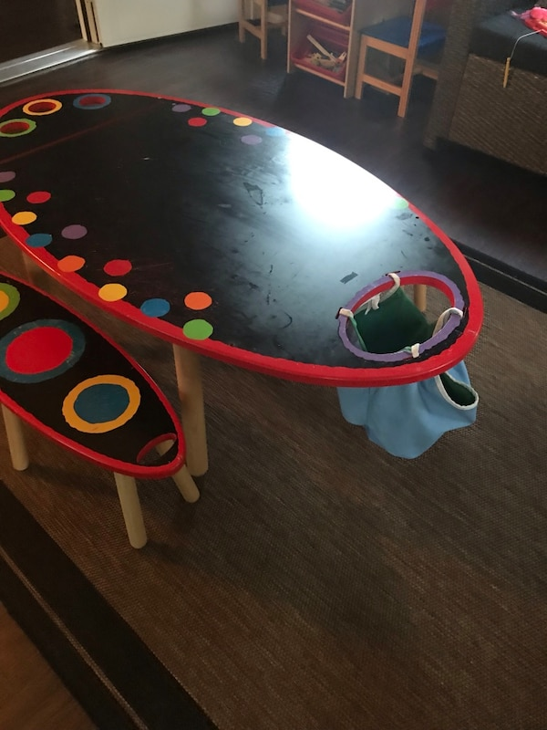 Kids Craft Table 2