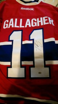 Brendan Gallagher signed Montreal Canadiens jersey Edmonton, T6H 5G1