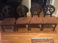 Set of 4 dining chairs Clifton, 20124