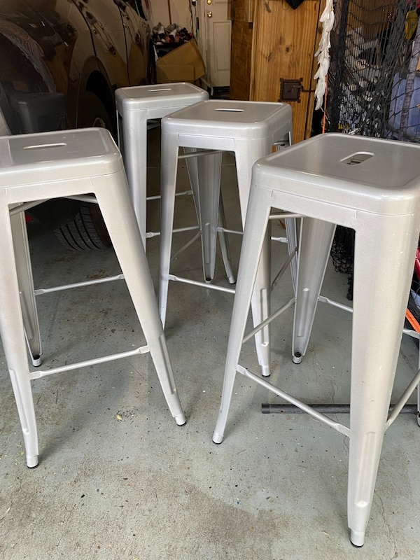 Used Tabouret 30 Metal Barstools 6 Stools For Sale In Danville Letgo