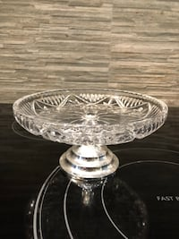 "Footed Candy Dish 7"" Round Toronto, M9C 4W1"