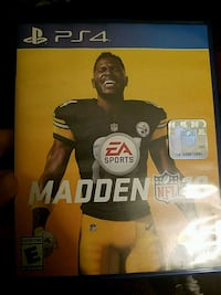 Sony PS4 Madden NFL 17 game case Palmetto, 34221