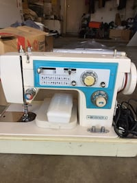 Dressmaker portable electric sewing machine