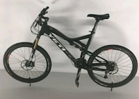 black and gray hardtail bike Fort Campbell, 42223
