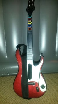 Guitar for rock band, guitar hero (videogames)