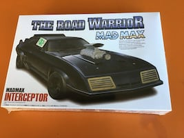 Mad Max The Road Warrior Aoshima Model Kit