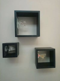 three black wooden photo frames Brampton, L6S 1R8
