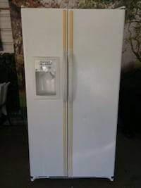 Used Black Side By Side Refrigerator For Sale In