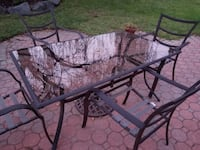 Patio Table (and chairs if you want them) East Windsor