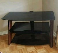 Black wooden 3-layer tv stand Vaughan, L4K