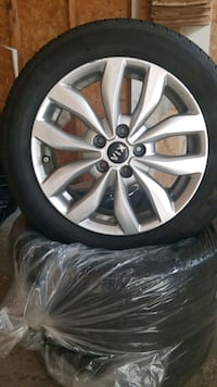 4 tires on rims  Kitchener, N2N 1R4