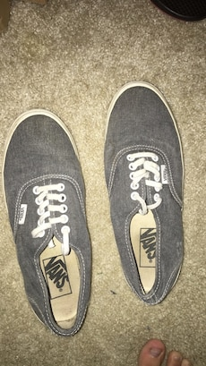 Vans size 8 light wear