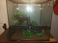 rectangular black framed glass pet tank Cambridge, N1R 3P8
