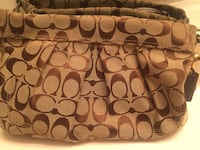 Coach purse and matching wallet bundle