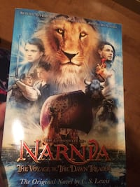 Narnia The Voyage of the Dawn Treader DVD case