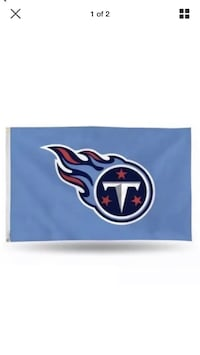 Tennessee Titans flag 5 foot x 3 foot