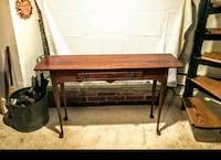 Solid Cherry Wood Single Drawer side table Cape Saint Claire