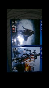 two Sony PS4 games Thornton, 80229