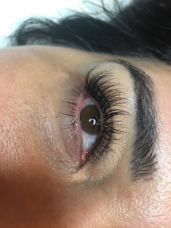Classic full set $75 eyelash extentions