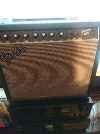 black and gray Fender guitar amplifier Washington, 20018