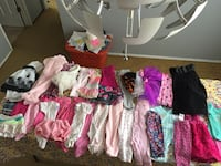 0-2 Girl clothes lot