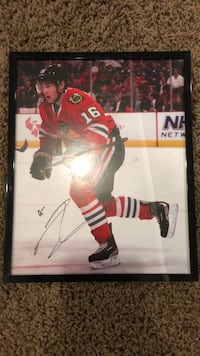 Andrew Ladd autographed picture