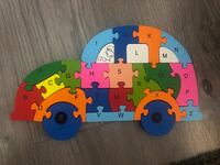 Wood puzzle toy for kids Toronto, M2K 1C3