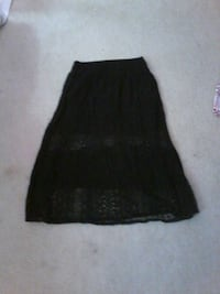 women's black skirt Manassas, 20112