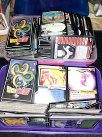 Dragon ball Z cards collection