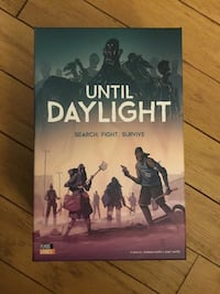 Until daylight board game Montréal, H3J 1H7