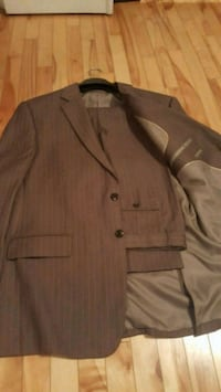 brown button-up jacket Laval, H7W