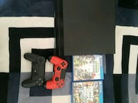 black Sony PS4 console with two controllers Phoenix, 85051