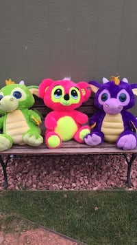 pink, green, and purple floral plush toy Colorado Springs, 80916