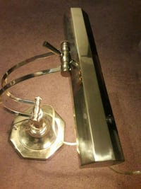 Brass Desk Lamp Dated 1988