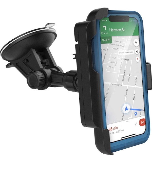 watch 58bfd ba159 NEW Encased Car Mount for Lifeproof Case iPhone X Fully Adjustable Vehicle  Dock, Windshield & Dashboard Compatible NEW