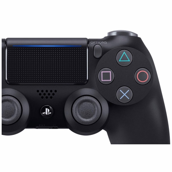 Black Sony PS4 DualShock 4 Controller 3
