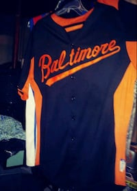 O's batting jersey Baltimore, 21229