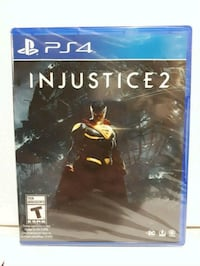 PS4 Injustice 2 game case Brampton, L7A 2R8