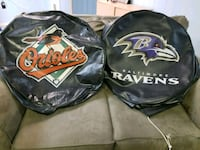 Orioles and Ravens Tire Covers  Columbia