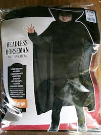 Headless Horseman Costume-kids LG 418 mi