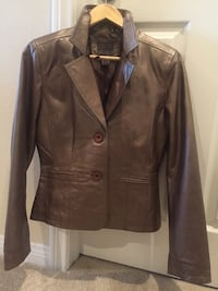 brown leather button-up jacket Anaheim, 92808
