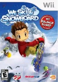 Looking for a copy of Wii - We Ski and Snowboard Brantford, N3S 7T4