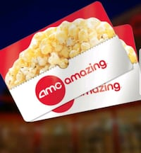 $25 AMC THEATRE GIFT CARDS FOR $15 EACH! Bridgewater, 08807