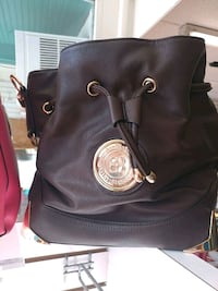 black Michael Kors leather backpack Martinsburg, 25401