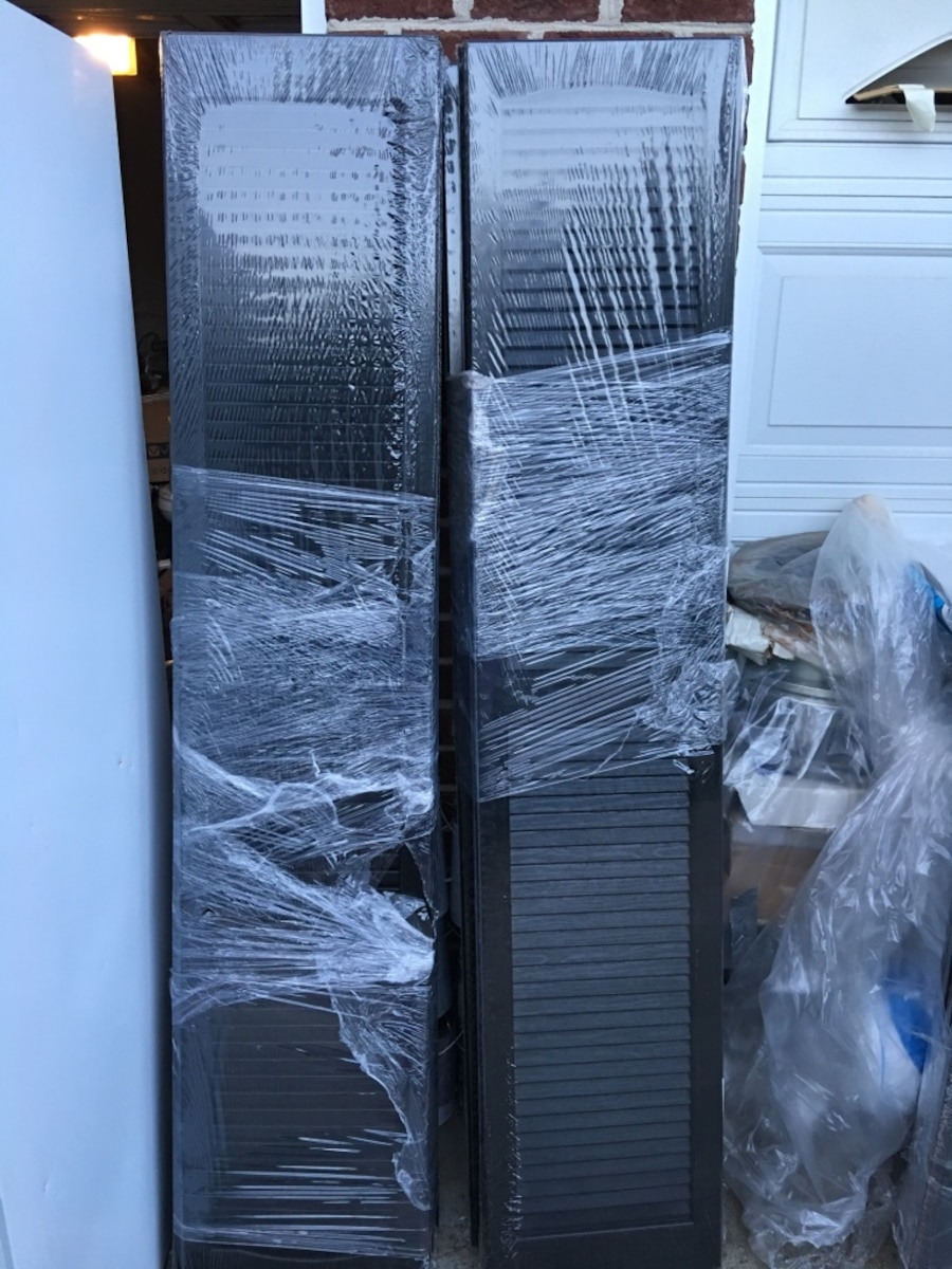 Used Severe Weather Exterior Window Shutters In Archdale