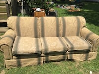 white and black floral 3-seat sofa Greenville, 42345