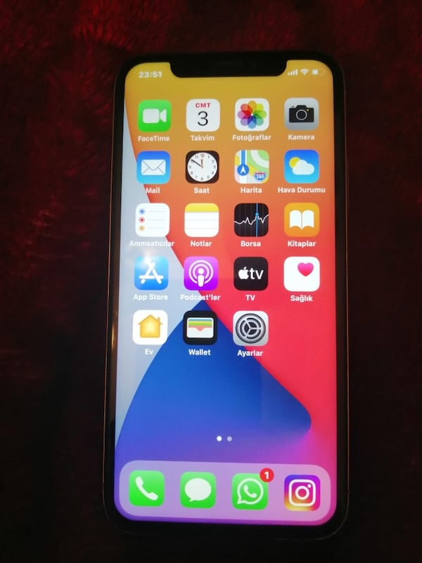 Iphone x 64 gb 0c3b1864-dc1c-4ae9-beaa-48b5b53302d7